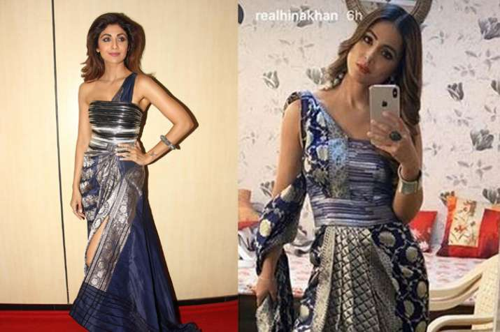 hina khan and shilpa shetty- India TV
