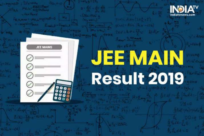 JEE Main result 2019- India TV