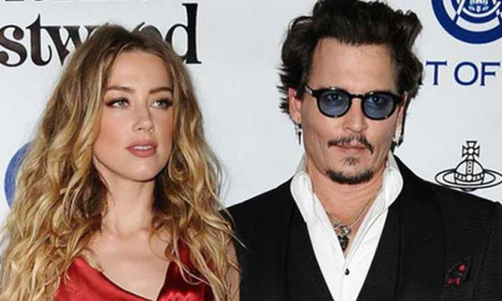 Johnny Depp, Amber Heard- India TV
