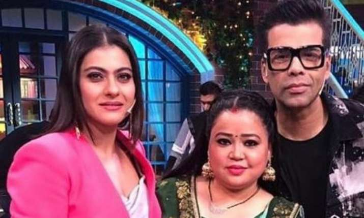 Kajol and Karan Johar shoot for The Kapil Sharma Show- India TV