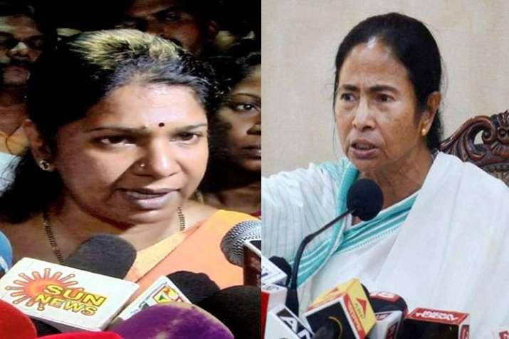 Kanimozhi and Mamta Banerjee- India TV