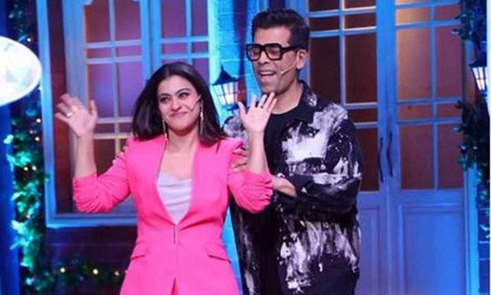 Karan Johar, Kajol- India TV