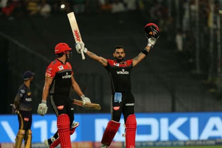 IPL 2019 KKR vs RCB: विराट कोहली ने जड़ी आईपीएल करियर की 5वीं सेंचुरी, 58 गेंदों में खेली विस्फोटक प- India TV