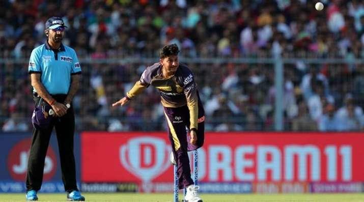Kuldeep Yadav Dinesh Karthik IPL 2019 Kolkata Knight Riders- India TV