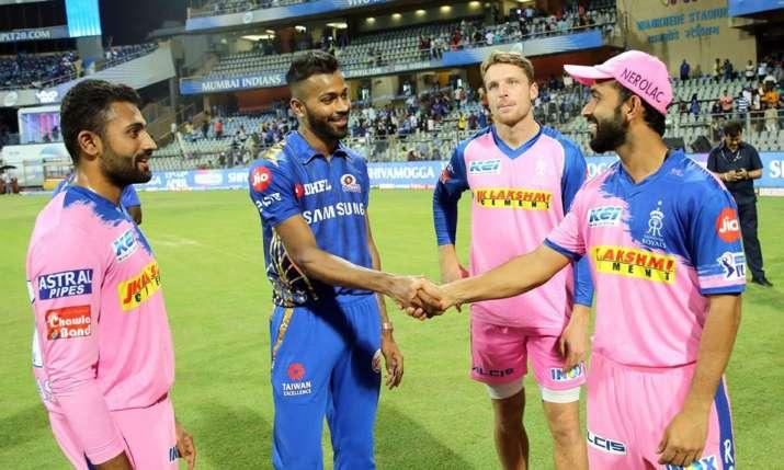 राजस्थान रॉयल्स बनाम मुम्बई इंडियंस - India TV