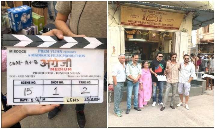 Shooting begins of Angrezi medium- India TV