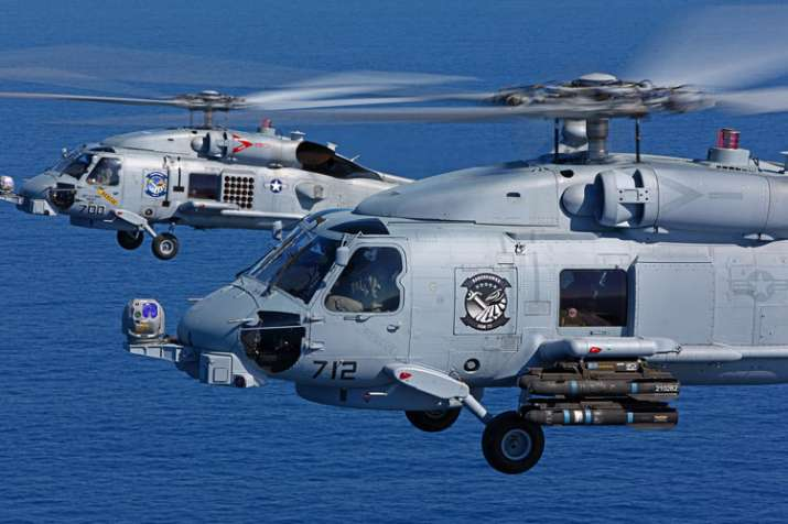 United Sates approves sale of 24 MH-60 Romeo Seahawk anti-submarine helicopters to India- India TV