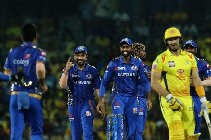 आईपीएल स्कोर चेन्नई सुपर किंग्स बनाम मुंबई इंडियंस, क्रिकेट लाइव स्कोर, इंडियन प्रीमियर लीग आईपीएल 2- India TV