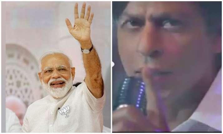 PM Narendra modi and shahrukh khan- India TV