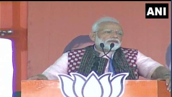 भाजपा सरकार ने असामाजिक तत्वों को निकाल बाहर करने के लिए कदम उठाए: प्रधानमंत्री मोदी- India TV