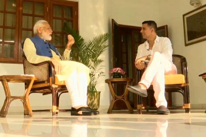 Akshay Kumar and PM Narendra Modi   ANI- India TV