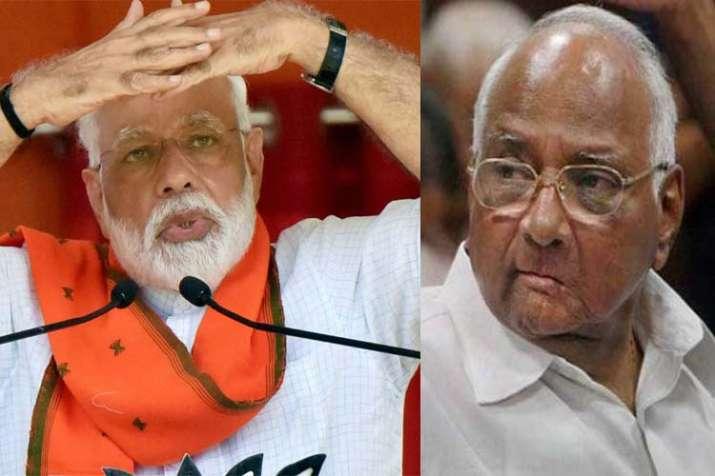 Narendra Modi And Sharad Pawar- India TV