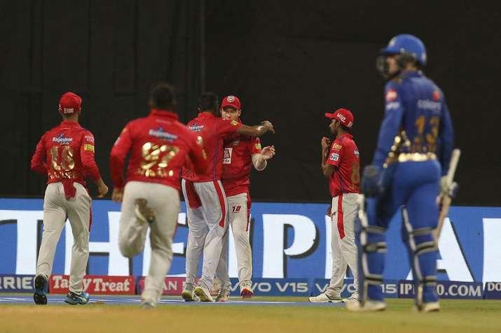 आईपीएल लाइव क्रिकेट स्कोर, मुंबई इंडियंस बनाम किंग्स इलेवन पंजाब MI vs KXIP Live Match, आईपीएल 2019 - India TV