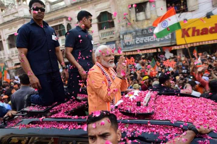 PM Narendra Modi in Varanasi   PTI- India TV