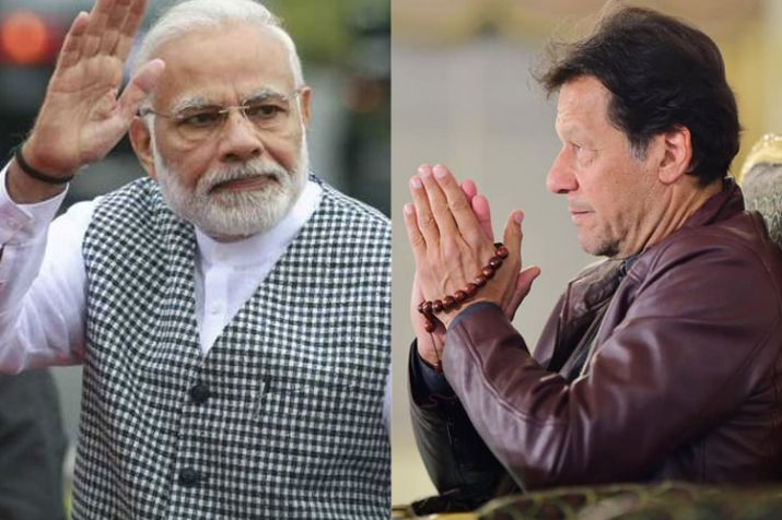 narendra modi and imran khan- India TV