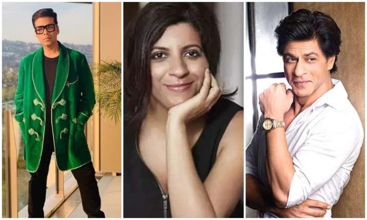 Karan johar,zoya akhtar and shah rukh khan- India TV