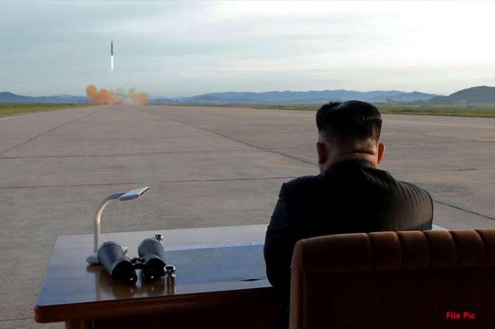 उत्तर कोरिया ने फिर किया नए शक्तिशाली आयुधों से युक्त हथियार का परीक्षण- India TV