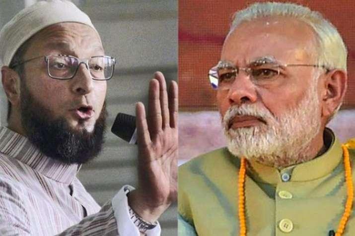 असदुद्दीन ओवैसी ने दिया मोदी को श्राप, कहा-नहीं बनेंगे हिंदुस्तान के प्रधानमंत्री- India TV