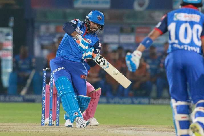 Live Cricket Score Rajasthan Royals vs Delhi Capitals, IPL 2019- India TV
