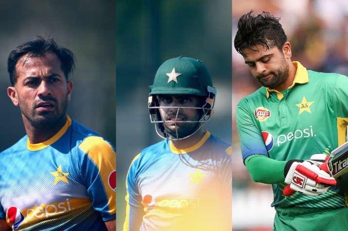 विश्व कप के लिए पाकिस्तान ने की 23 संभावित खिलाड़ियों की घोषणा, वहाब रियाज, उमर अकमल और अहमद शहजाद ब- India TV
