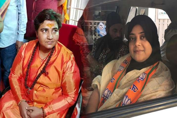 मुस्लिम भाजपा नेत्री का प्रचार करने से इनकार, दिया मोदी तुझसे बैर नहीं-प्रज्ञा तेरी खैर नहीं का नारा- India TV