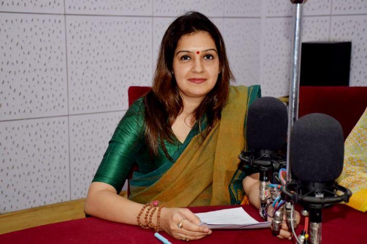 Priyanka Chaturvedi- India TV