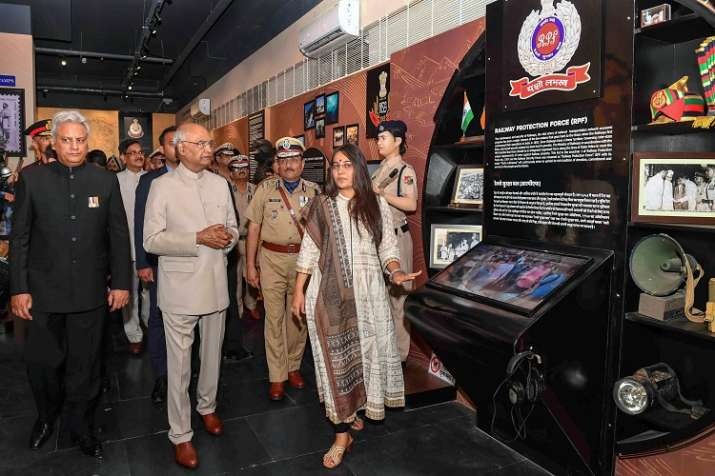 President Ram Nath Kovind launches app for families of...- India TV
