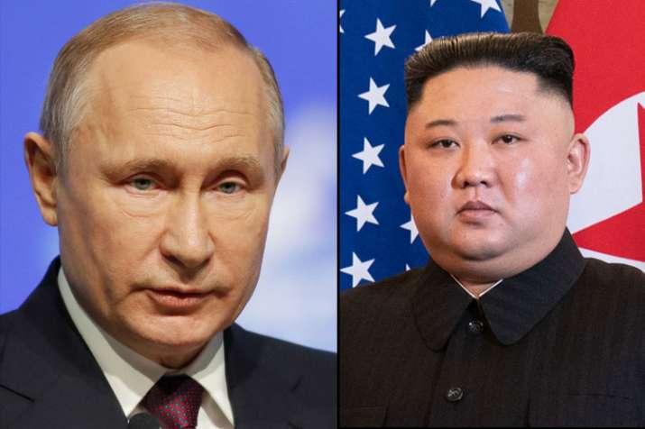 Vladimir Putin and Kim Jong Un - India TV