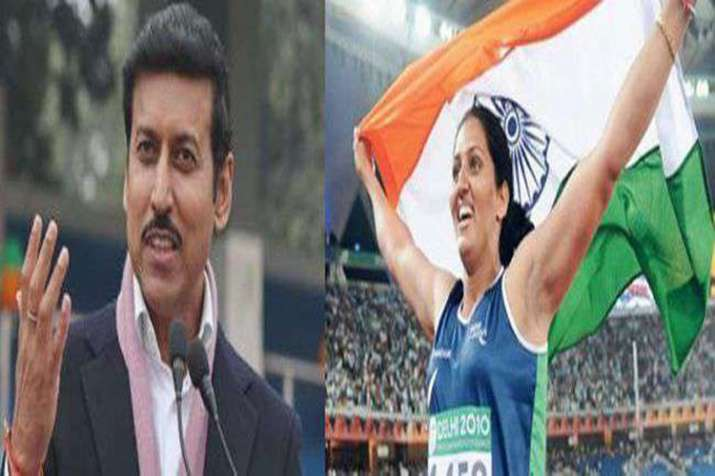 Congress fields Commonwealth gold medalist against BJP's Olympic medal winner candidate- India TV