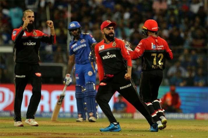 लाइव क्रिकेट स्कोर, मुंबई इंडियंस बनाम रॉयल चैलेंजर्स बैंगलोर आईपीएल मैच स्कोर अपडेट्स- India TV