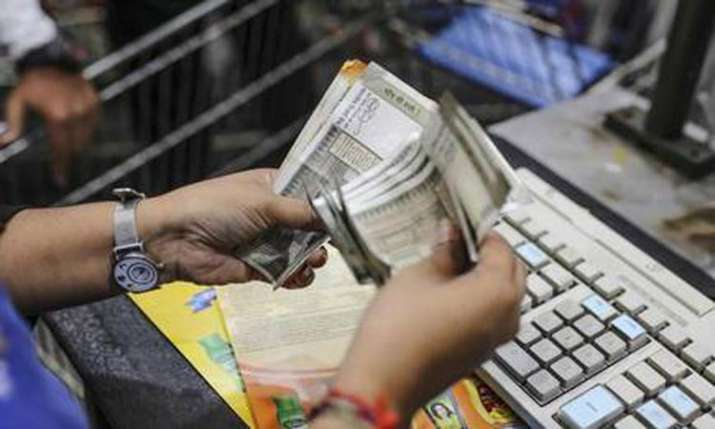 Rupee falls by 24 paise on strong dollar demand- India TV Paisa