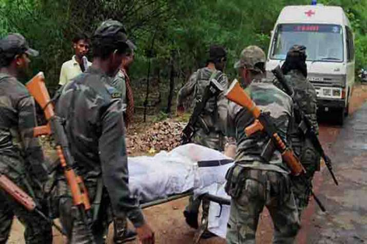 1125 security personnel killed by Naxals since 2009, reveals RTI query - India TV