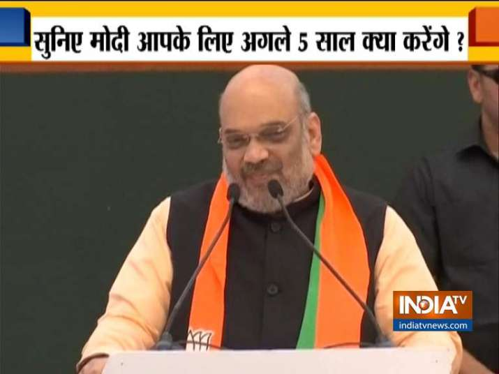 Will draft uniform civil code if comes to power, BJP said in its election manifesto Sankalp Patra- India TV