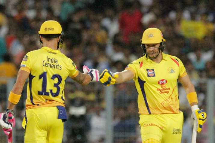 वाटसन ने तेजी से रन जुटाने के लिये मुझे शुक्रिया किया: डु प्लेसिस - India TV