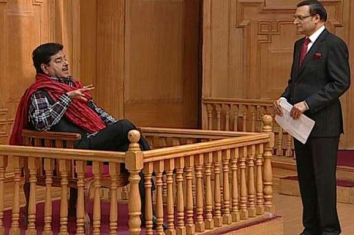 Shatrughan Sinha in Aap Ki Adalat | India TV- India TV