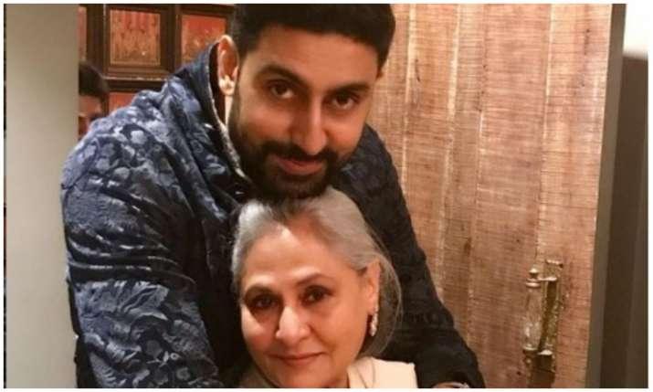 Abhishek bachchan and jaya bachchan- India TV