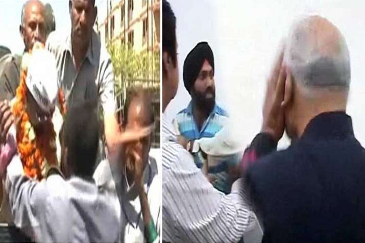 slap scandels- India TV