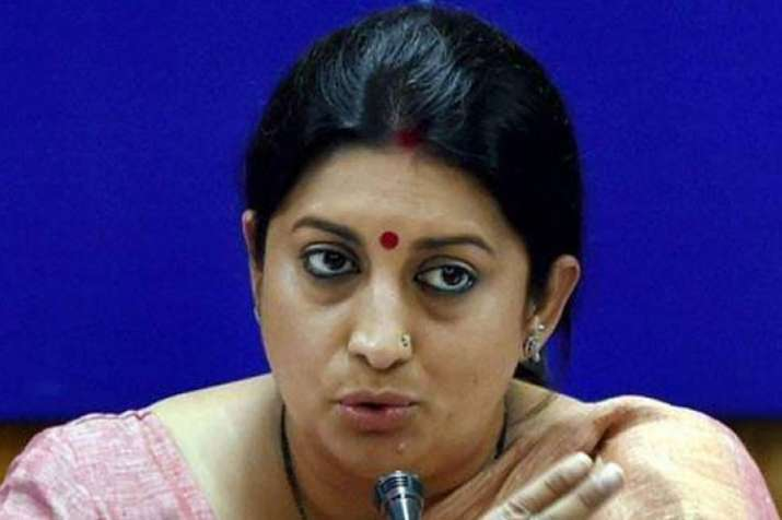 BJP Leader Smriti Irani- India TV
