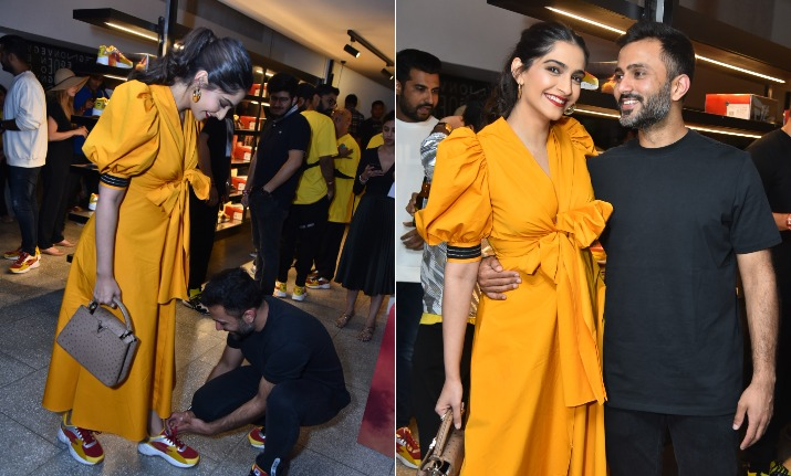 Sonam kapoor and anand ahuja- India TV