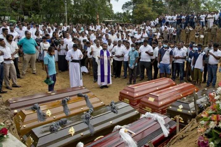 Sri Lanka reduces Easter blasts death toll from 359 to 253   AP- India TV