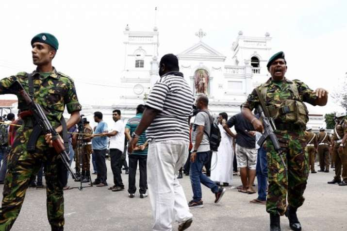 श्रीलंका में आतंकवादी ठिकानों पर छापों में छह बच्चों समेत 15 की मौत- India TV