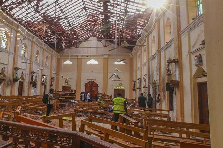 One of nine bombers was a woman which carry out Blasts in Sri Lanka - India TV
