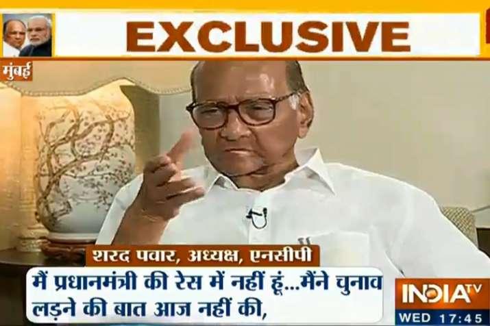 Sharad Pawar- India TV