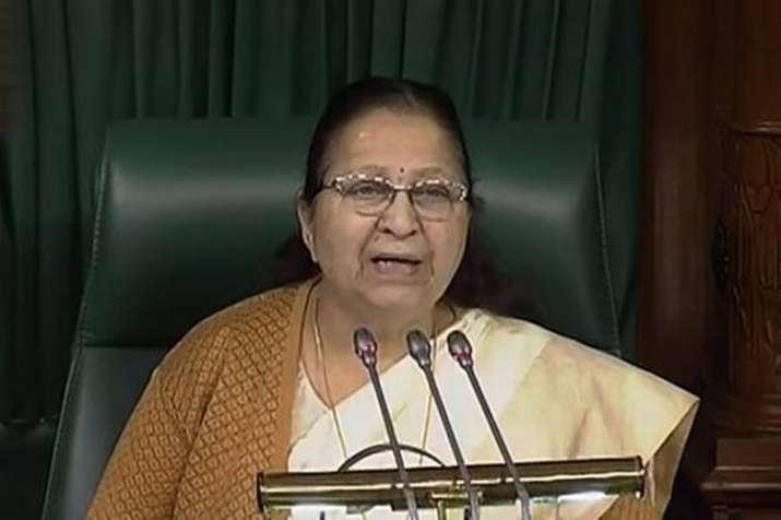Upset Sumitra Mahajan not to contest Lok Sabha Election- India TV