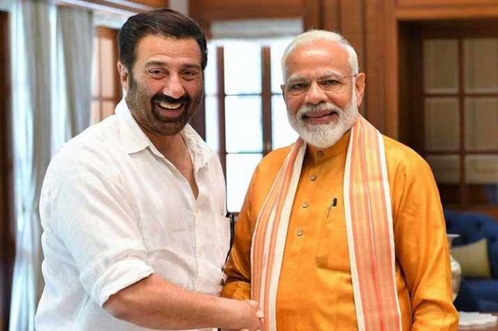 sunny deol and pm modi- India TV