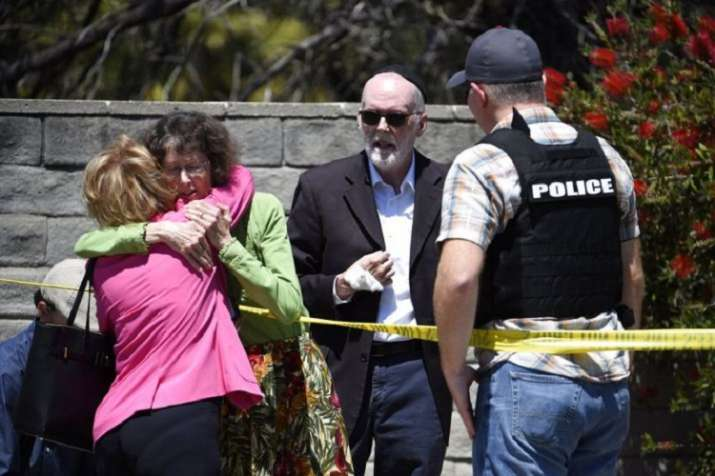 Shooting at a synagogue in san diego- India TV