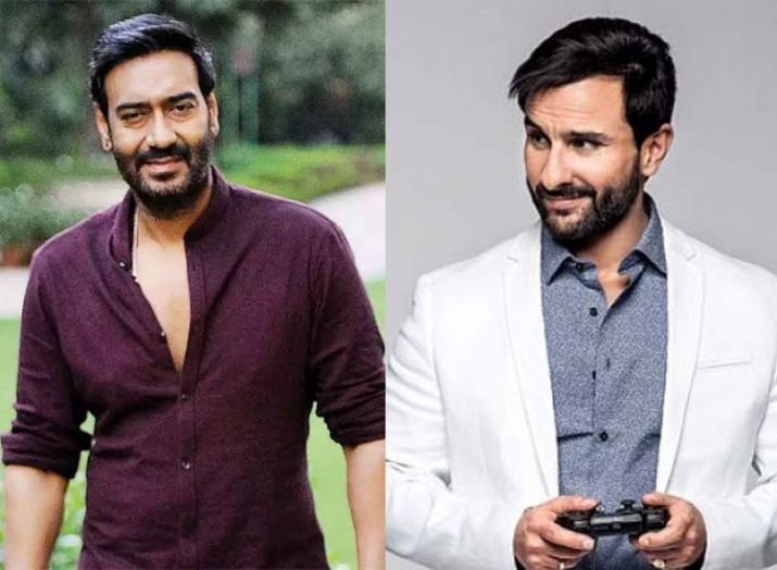 Saif Ali Khan, Ajay Devgn- India TV