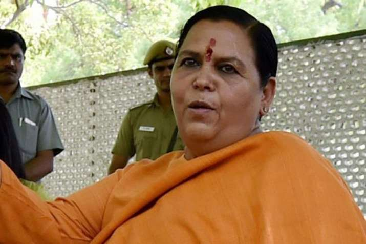 Country will see Priyanka Gandhi as a 'thief's wife', says Union Minister Uma Bharti | PTI File- India TV