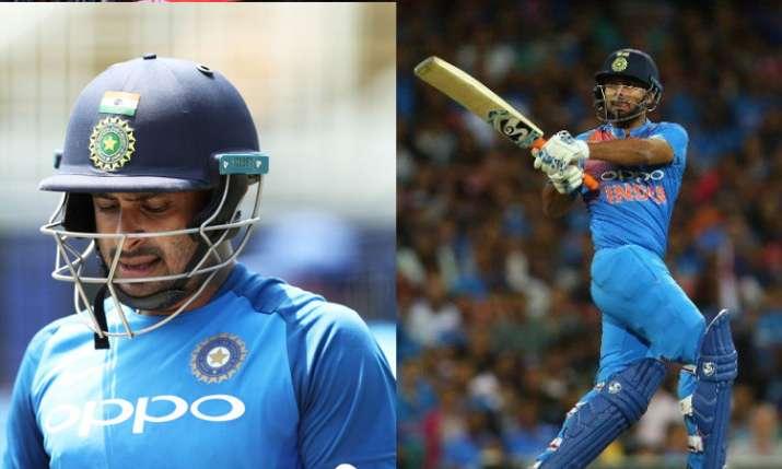india world cup squad 2019 announced list Of Players Rishabh Pant and Ambati Rayudu- India TV