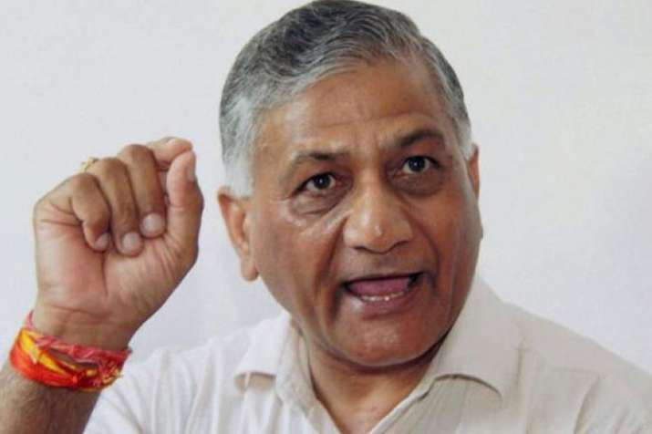 VK Singh denies calling anyone 'traitor' over 'Modi Ki Sena' remark   PTI File- India TV